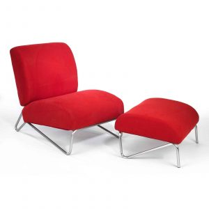 a chair in a room discount red living room chair with ottoman
