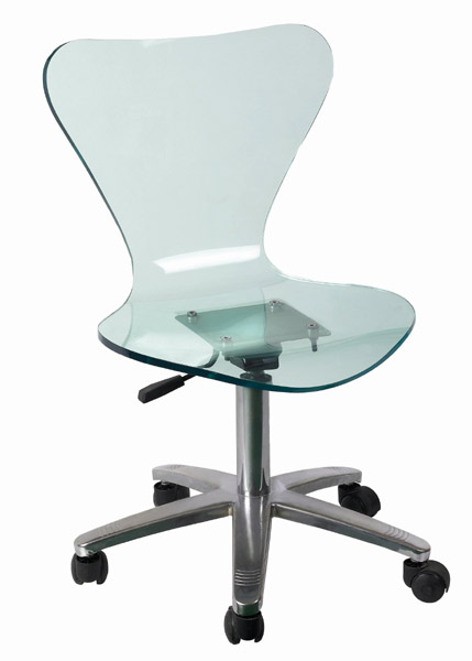 acrylic desk chair