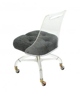 acrylic desk chair img