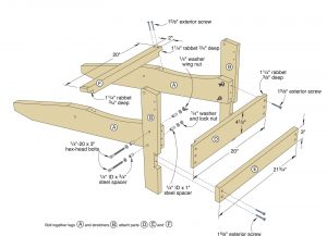 adirondack chair plans adirondackchair f sflb