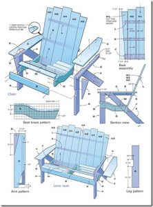 adirondack glider chair adirondackchairplan thumb