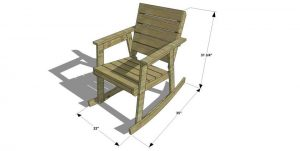 adirondack rocking chair plans rockchairdimweb