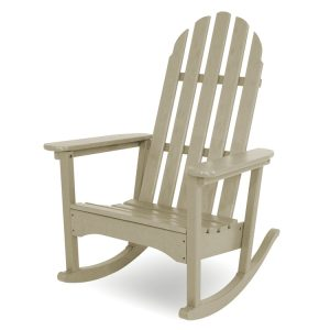 adirondack rocking chair polywood classic adirondack rocking chair