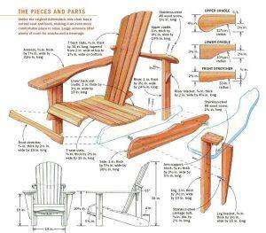 adirondak chair pattern adirondack plan