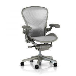 aeron chair review herman miller aeron smoke titanium chair classic p image