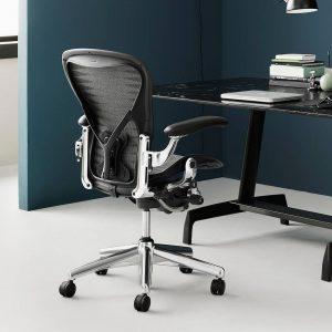 aeron desk chair herman miller aeron aluminium au