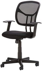 amazonbasics mid back mesh chair sjduxcjzl