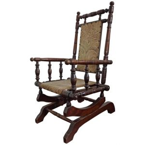 antique rocking chair l