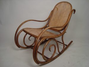 antique rocking chair antique cane rocking chair c