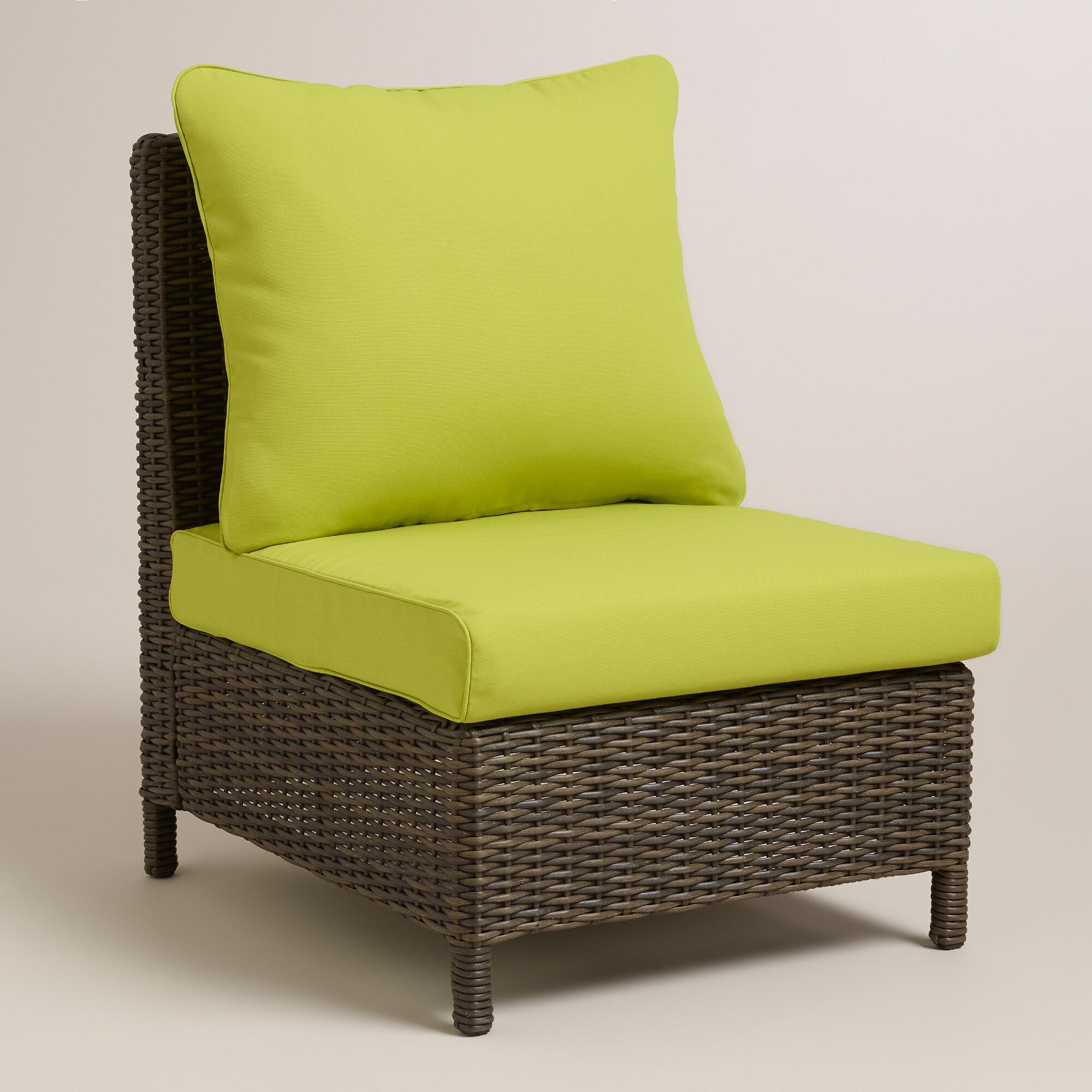 armless chair slipcover