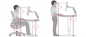 average chair height workspaceplanner scale
