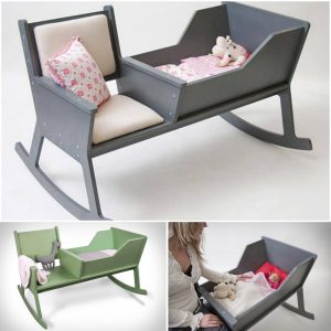 baby sitting chair rocking chair with a crib diy f