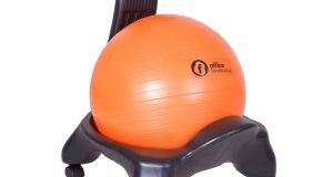 balance ball chair base orange ball chair