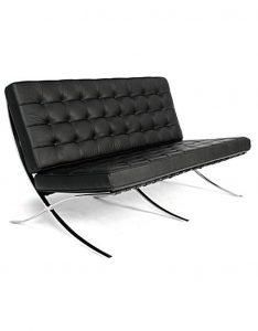 barcelona chair replica barcelona chair seater