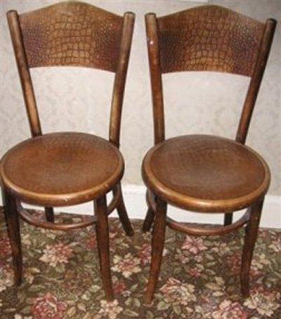 bent wood chair