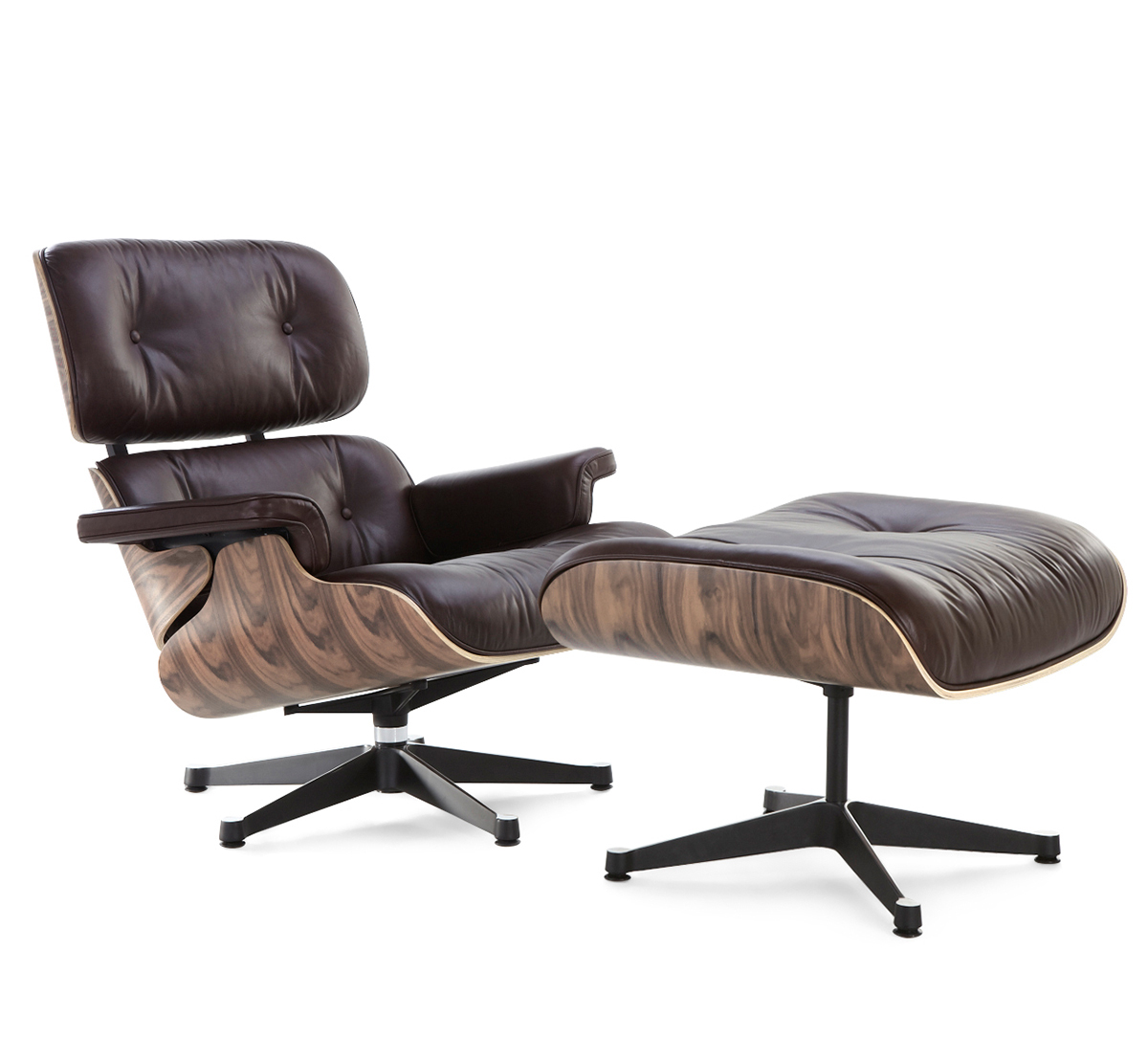 best eames chair replica eames lounge chair reproduction brown walnut