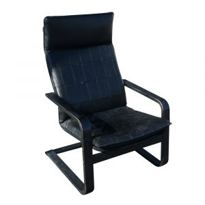 black leather chair abablackleatherlounge