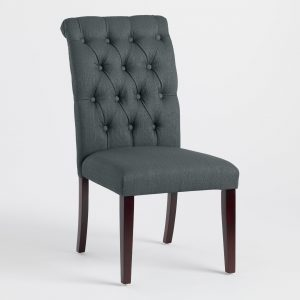 black tufted chair xxx v