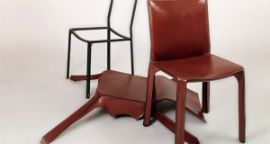 black tufted chair cab archive