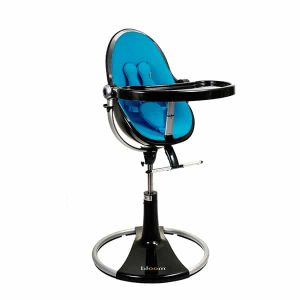 bloom high chair fresco loft high chair black bermuda blue bloom