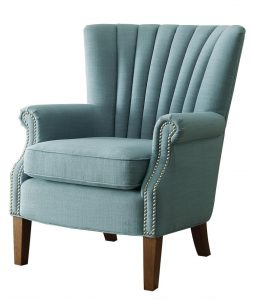 blue accent chair hefs nobg