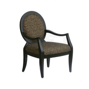 blue accent chair with arms leopard upholstered fabric accent chair with round back and arms x