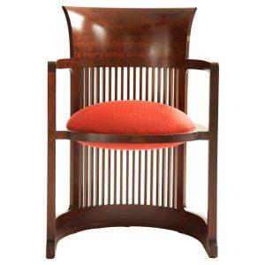 blue leather chair xxx