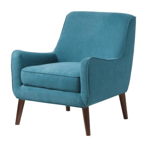 blue slipper chair