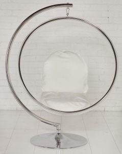 bubble chair with stand chair