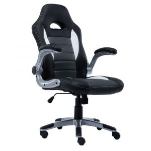 bucket seats office chair giantex pu leather executive racing style bucket seat chair sporty office desk chair gray