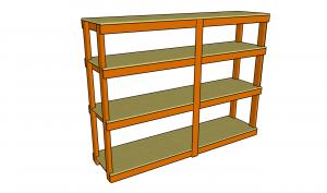 build a chair garage shelving plans ideas