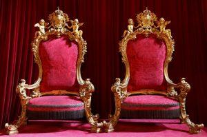 build a chair royal thrones ajuda palace lisbon