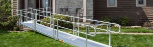 building wheel chair ramps article banner modular wheelchair ramp home