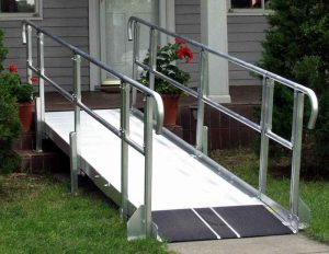 building wheel chair ramps modular ramp