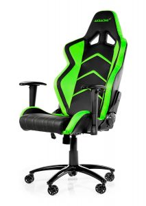 car seat office chair akracing player gaming chair black green xtra