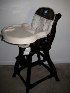 carter wooden high chair img