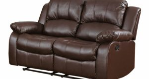 chair and a half recliner leather brown seater electric recliner leather sofa