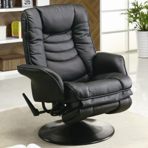 chair and a half recliner leather coaster recliners casual leatherette swivel recliner coaster