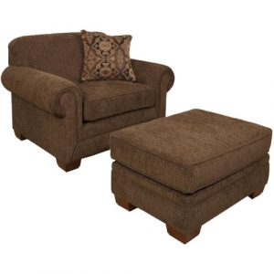 chair and a half with ottoman monroe b