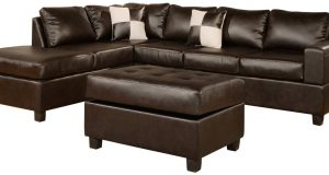 chair and ottoman set leather sectional