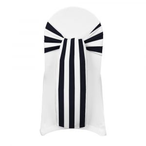 chair covers and sash emporium bride black and white stripe chair sash striped chair sash black monochrome australia cheap online