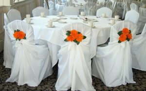 chair covers and sash image