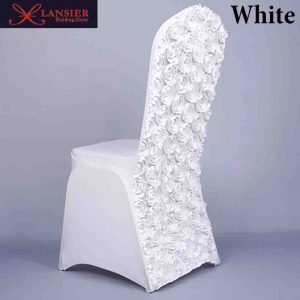 chair covers for sale d rose flower pure color white wedding font b chair b font font b covers b