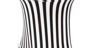 chair cushion with ties zoom~v~spandex table cover black and white stripes
