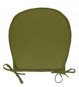 chair cushion with ties kitchen seat pad chair green