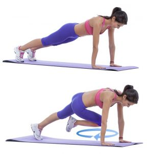 chair exercise for abs circle plank