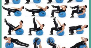 chair exercises for abdominals fitness ball ab exercises