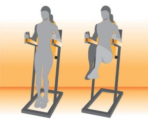 chair exercises for abdominals low abs captains chair