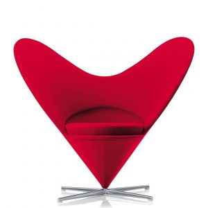 chair floor matt heart cone chair verner panton stuhl vitra tonus red rot zoom