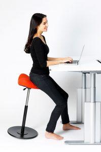 chair for standing desk ergonomic bar stool varier move x